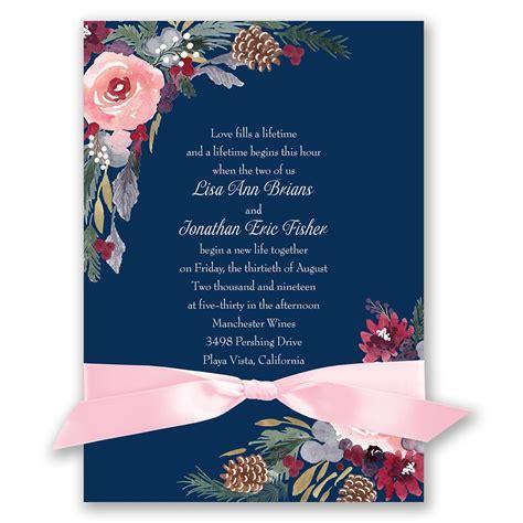 bold blooms invitation invitations by