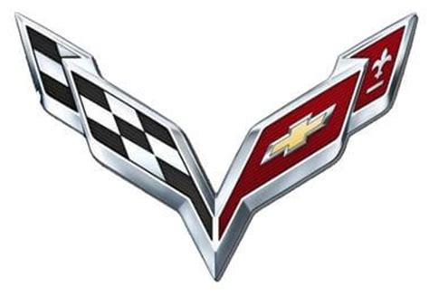 corvette logo history corvette logo design history and evolution logorealm