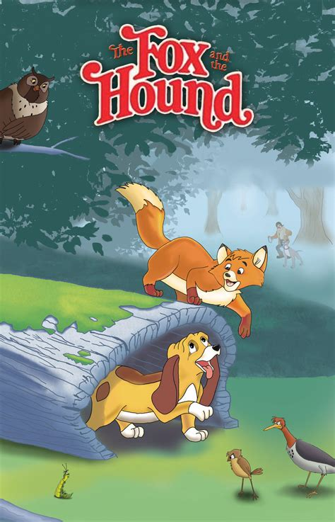 0008215774 the fox and the ghost the fox and the hound by yourfaceisacomic on deviantart