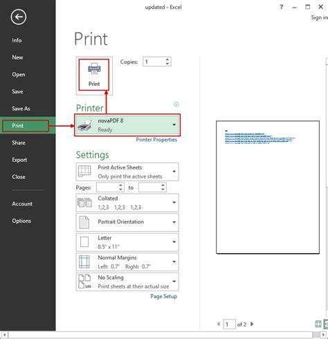 tutorial excel full pdf convert excel 2010 worksheet to pdf