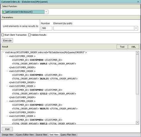xquery tutorial html building xqueries in xquery editor view