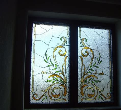 stained glass windows in a classical interior design ideas