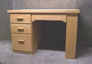wood desk plans   build  amazing diy