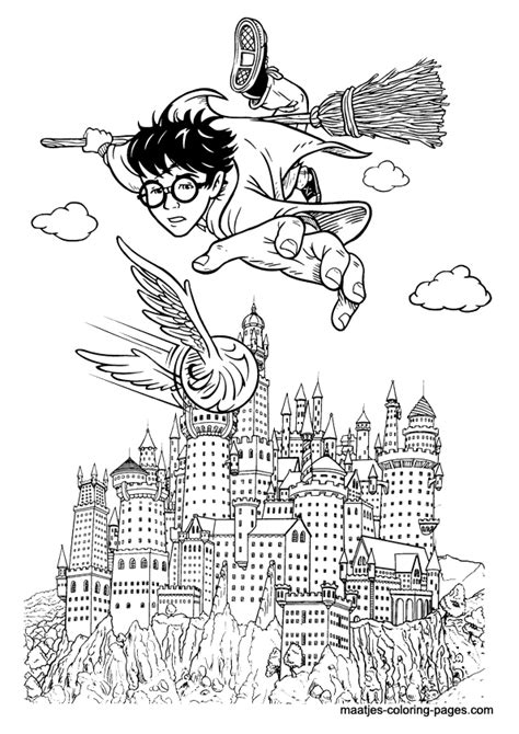 harry potter mandala coloring book harry potter coloring page
