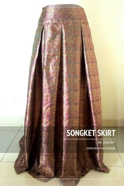 Longdres Songket 17 best images about batik dan songket on maxi skirts skirts and print skirt