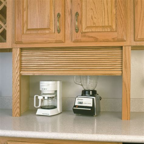 Plain Kitchen Cabinet Doors by Appliance Garage Kits For Cabinets Walzcraft