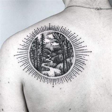 path tattoo designs 100 forest designs for masculine tree ink