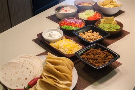 Taco Bar Ideas With Pictures Ehow Taco Buffet Ideas