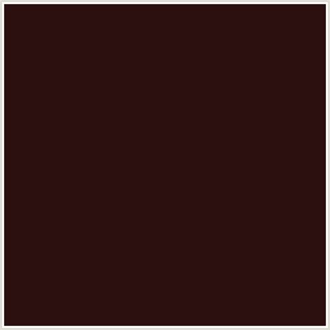 color coffee 2b0f0e hex color rgb 43 15 14 coffee bean