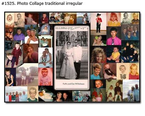 Wedding Anniversary Collage Ideas by Photo Collage For Dating And Married Couples