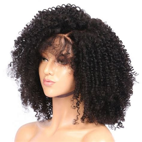 kinky bob wigs 360 lace frontal wigs kinky curly brazilian virgin human