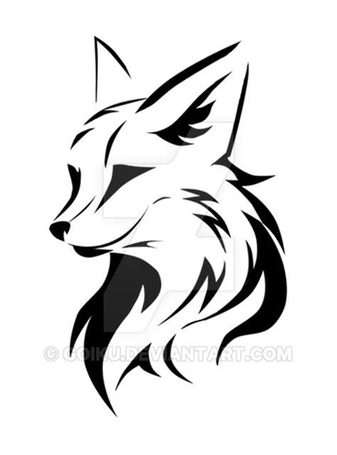logo fox design by goiku on deviantart