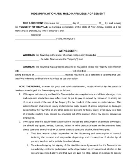 Sle Hold Harmless Agreement Form 12 Free Documents In Word Pdf Equine Hold Harmless Agreement Template
