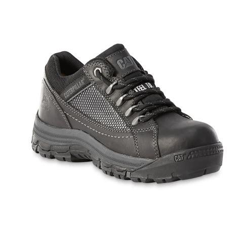 cat footwear s chs black steel toe work shoe