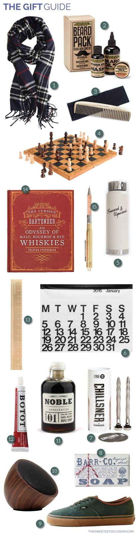 Fab Gift Guide All The Dudes by The Gift Guide Gifts For Guys The Sweetest Occasion