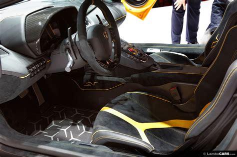 Inside A Lamborghini Aventador Aventador Lp750 4 Superveloce Aventador Lp750 Superveloce