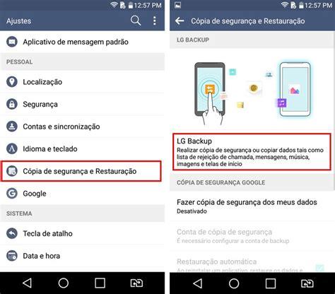 Lg O lg k10 como transferir dados entre dois celulares o
