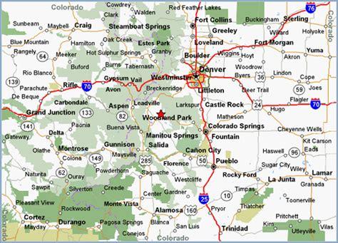 driving map of colorado free printable maps colorado highway map printfree