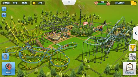 roller coaster tycoon 3 apk rollercoaster tycoon touch v 1 2 21 mod apk with unlimited coins and money axeetech