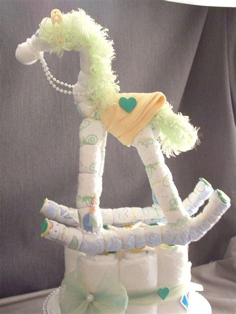 Rocking Baby Shower Cake by Rocking Cake Decorations Baby Shower Cake