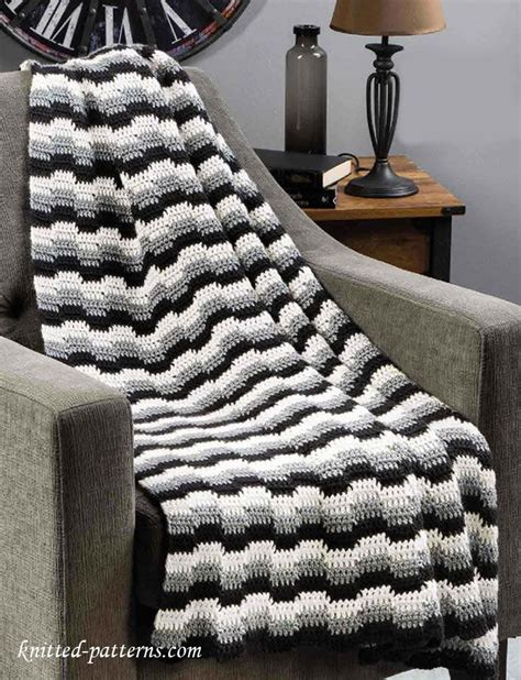 zig zag throw pattern crochet zig zag afghan pattern free crochet blankets