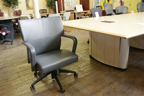 peartree office furniture hbf mv9 mid back leather executive chair peartree office