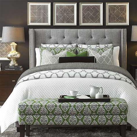 presidio upholstered bed by bassett furniture headboard