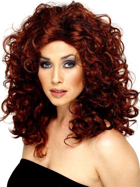 Auburn Finder Auburn Curly Wig