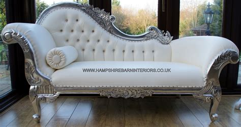 white leather chaise lounge furniture ideas
