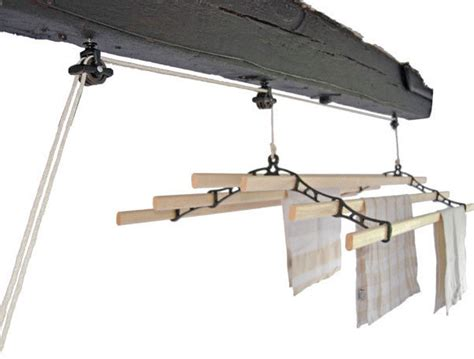 Ceiling Clothes Airer by Six Lath Supreme Kitchen Clothes Airer Eco Washing Lines