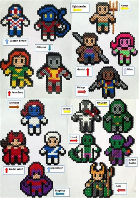 hama marvel best 25 marvel heroes ideas on