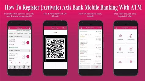 axis mobile banking how to register activate axis bank mobile banking with