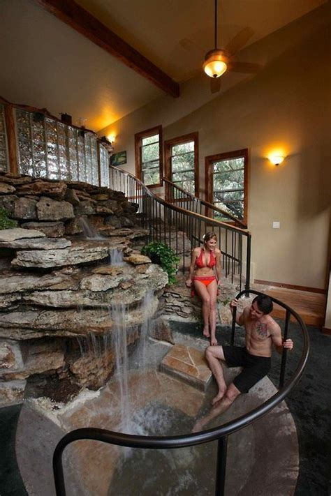 bedroom waterfalls indoor water feature awesome home ideas pinterest