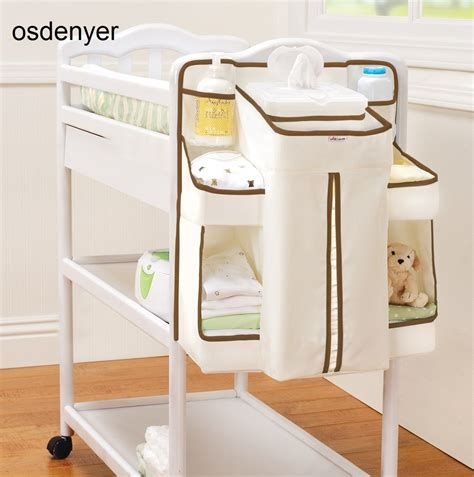 Hanging Changing Table Hanging Changing Table Organiser Baby Wipes Divider Storage Nappy Dispenser New 163 22 99