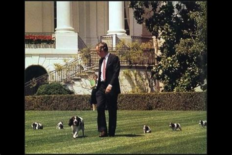 george bush house presidential dogs from kennedy to obama rover com blog