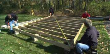 shed plans how to build a shed platform how to build