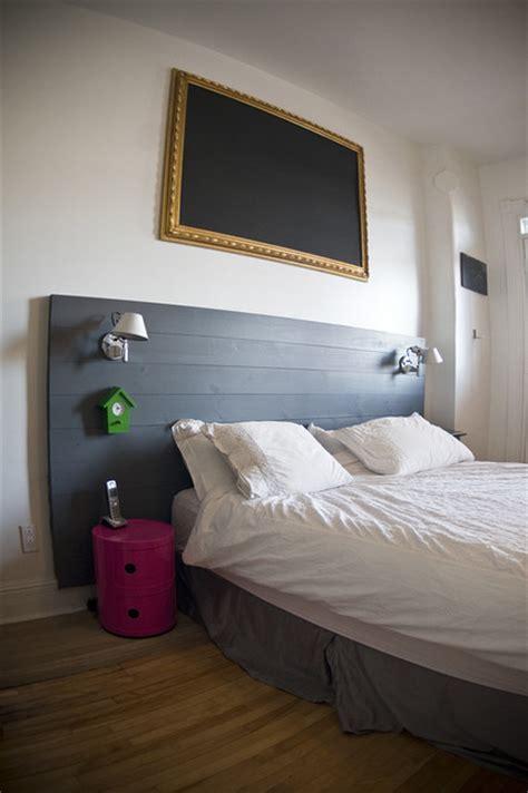 modern wood headboard headboards montreal by tipy