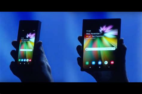 galaxy fold le premier smartphone pliable de samsung