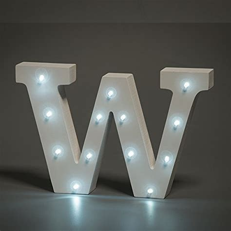sad up letters white wooden led letter w lights 6 inch wooden letters