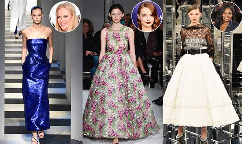 Oscar Predictions What Will The Nominees Wear by Valentino News Photos Biography Pictures