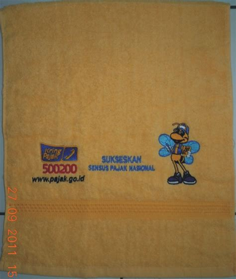 Handuk Mutia Ukuran 35 X 80 Cm handuk promosi optima megah persada