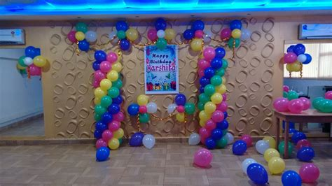 simple birthday decorations at home balloon decorators in bangalore hiibangalore com