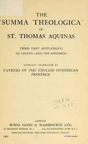 the summa theologica of st thomas aquinas vol 2 first part third number qq xc cxiv classic reprint the quot summa theologica quot of st thomas aquinas thomas