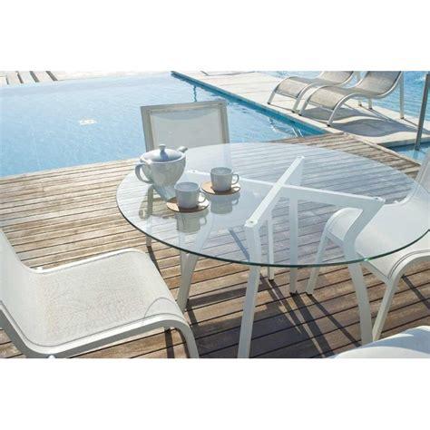 plateau verre pour table plateau pour table de jardin home design architecture cilif