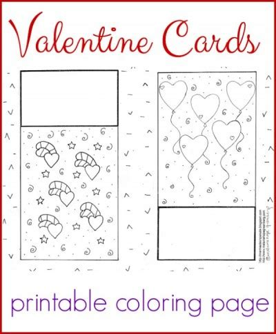 printable coloring pages valentines day cards cards coloring page