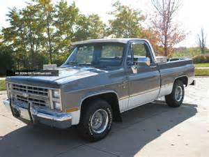 1987 189 ton bed chevy silverado