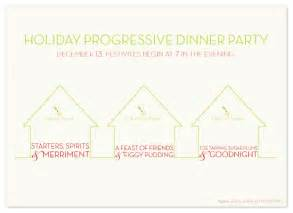 progressive dinner images frompo