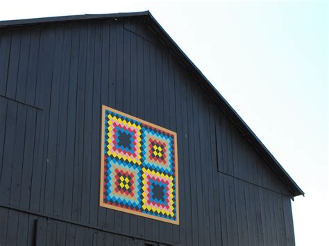 What Are Barn Quilts by Barn Quilts And The American Quilt Trail July 2010