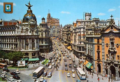 of spain rewind to madrid spain in the late 1960s ran when parked