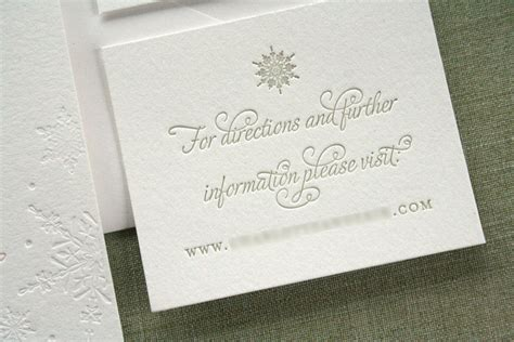 web wedding invitation erik s winter snowflake wedding invitations